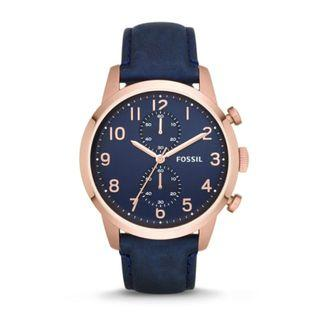 🚚 [Clearance] Fossil FS4933 Mens Townsman Chronograph Navy Watch