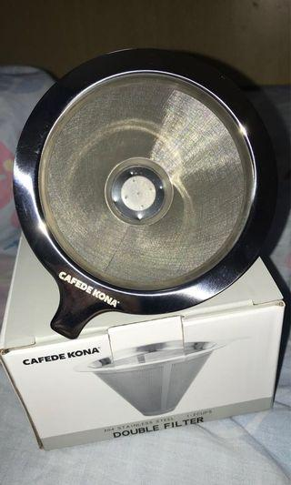 Coffee Double Filter