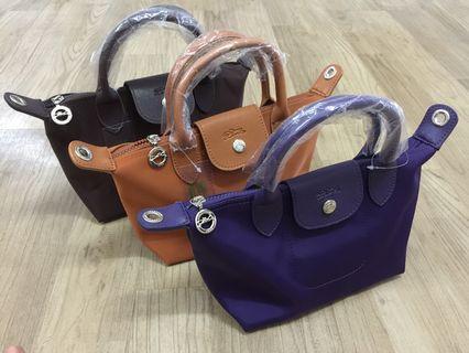 mini longcham handbag