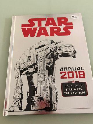 Star Wars hardcover book
