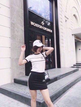 🚚 Top and skirt