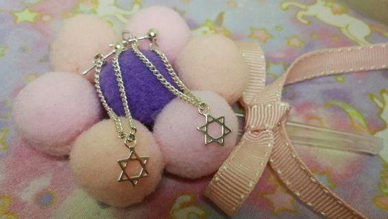 S925銀耳環#一對兩款帶法#禮物#包郵