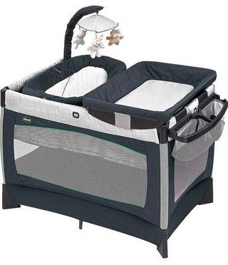 Chicco Lullaby Playard Baby Playpen w/Bassinet & Changing Station