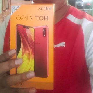 Infinix hot 7 pro-quad camera-6/64