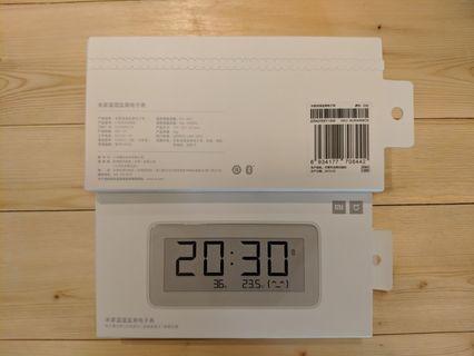 🚚 小米 米家溫濕監測電子錶