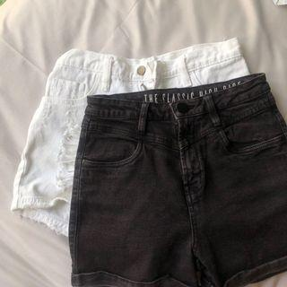 mom high waisted shorts