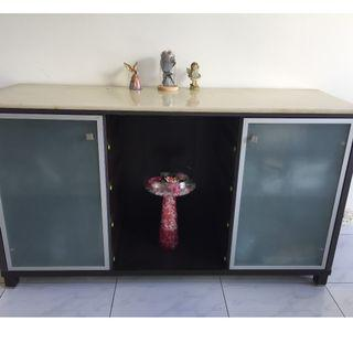 Buffet table / side board with marble top