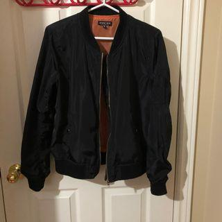Non-padded fashion nova bomber jacket