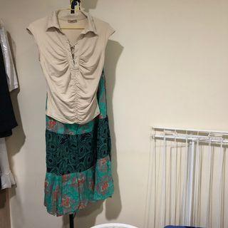 法國衣+英國裙純棉