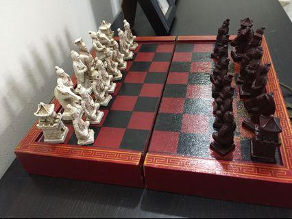 Chinese emperors chess set
