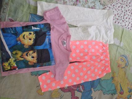 Combo Girl Cloth 2-3Y