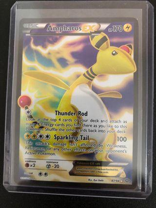 Pokemon: Ampharos EX 87/98 Full Art