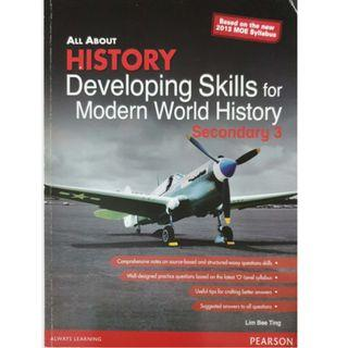 All about History- Developing skills for Modern World History (Sec 3)