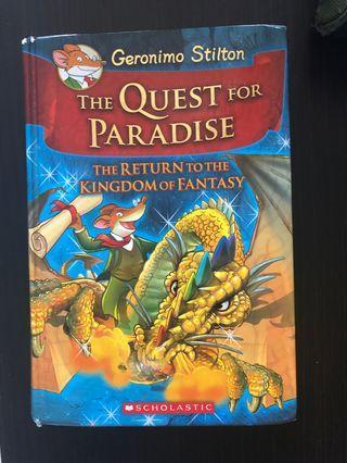 🚚 Geronimo Stilton - the quest for paradise