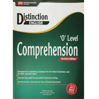 Distinction in English-O level Comprehension