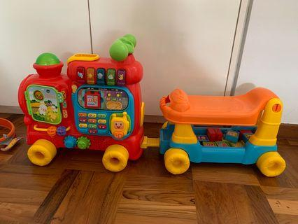 🚚 Vtech push and ride alphabet train
