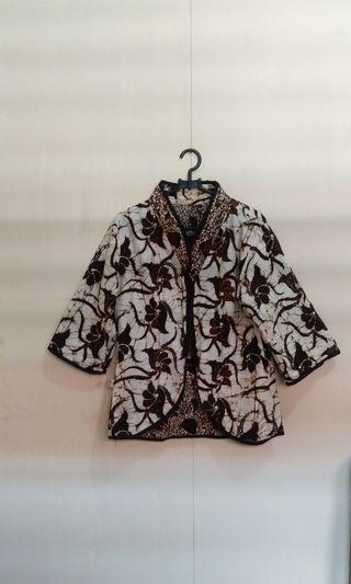 Blazer Batik Nufa Collection (Reversible) #maudandan