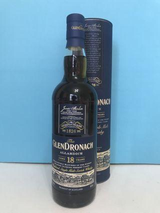 Glendronach 18 Whisky 格蘭多納18年威士忌