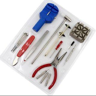 DIY 16pcs watch repair tools