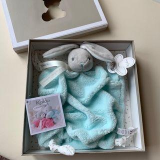Kaloo Plume Aqua Rabbit Doudou