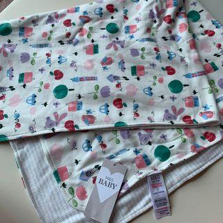 Marks & Spencer Pure Cotton Jersey Graphic Shawl