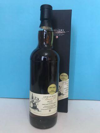 Adelphi's Speyside 11yo Whisky 單桶威士忌