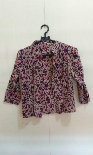 Blazer Batik Motif #maudandan