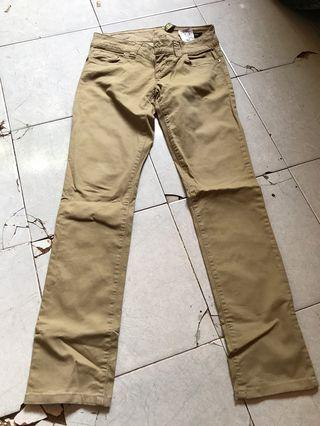 Guess stretch khaki pants ori 100%