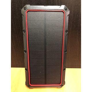 🚚 無線太陽能QC3.0支援TPC輸出輸入PD快充行動電源 大容量20000mah IP54戶外防水 充電寶 軍規防摔