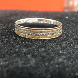 three colours ring stainless steel 不锈钢3色戒指