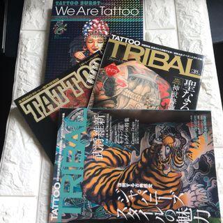 紋身書 Tridal Tattoo book