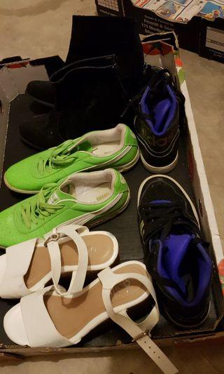 Selling Puma, Adidas and more shoes! Size 7, in very good condition