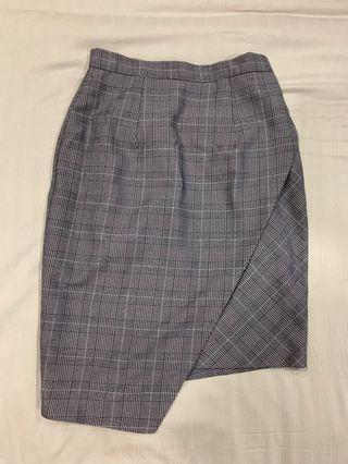 [BN] Fayth checkered skirt