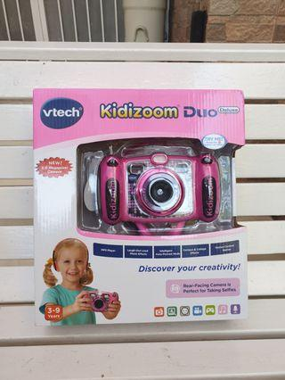 Vtech Kidizoom® DUO Deluxe Digital Camera with MP3 Player and Headphones - Pink