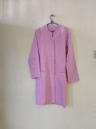 Setelan kerja office wear pink