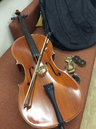 Cello 3/4 Etude, rarely used, first hand owner