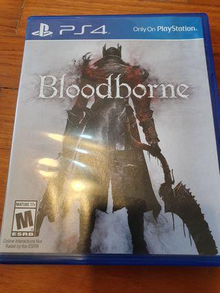 Bloodborne ps4 game