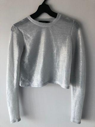 Sparkly Mesh Top (Glassons)