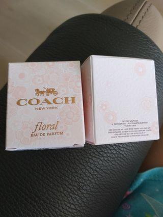 包郵 Coach floral 4.5ml