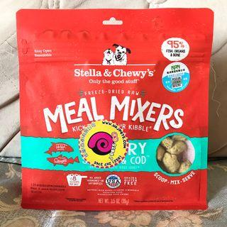 Stella & Chewy's 狗狗 凍乾 Freeze Dried Meal Mixers 三文魚加鱈魚配方 USA