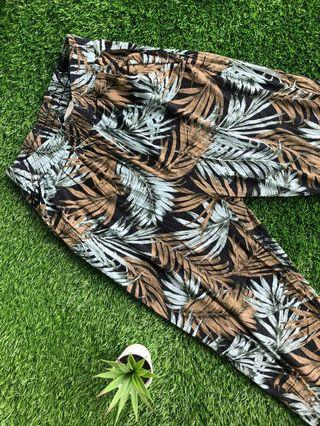 H&M Cotton Printed Pants