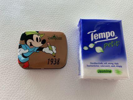 Disney 米奇老鼠小鐵盒(2.5吋x2吋)