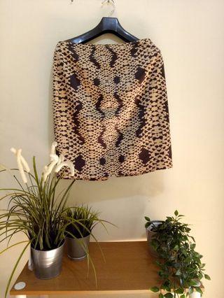 Leopard skirt The Executive