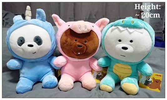 Bear bear soft toy