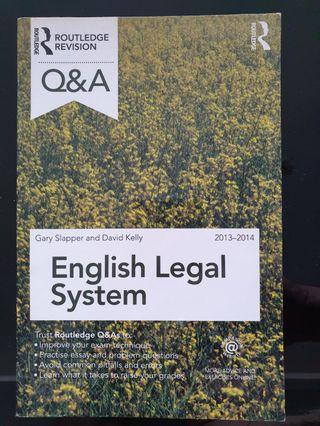 🚚 Law National Admission Test and Eng Legal Sys
