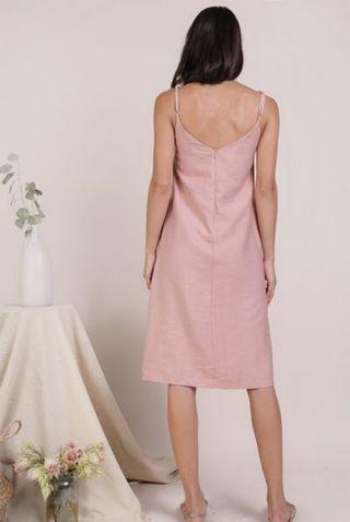 TTR button down midi dress (size s)