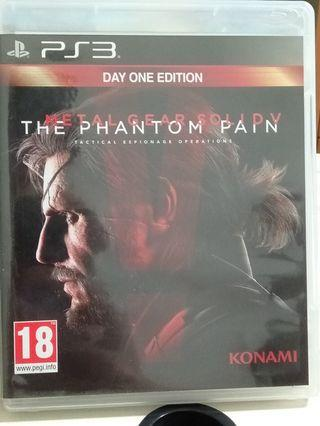 🚚 PS3 The Phantom Pain Day One Edition
