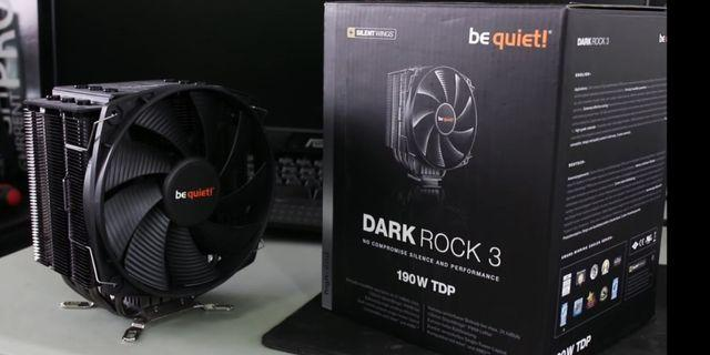Be Quiet! Dark Rock 3 CPU Air Cooler