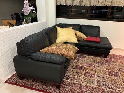 🚚 Sofa and arm chair