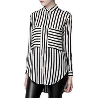 Black & White Stripes Shirt